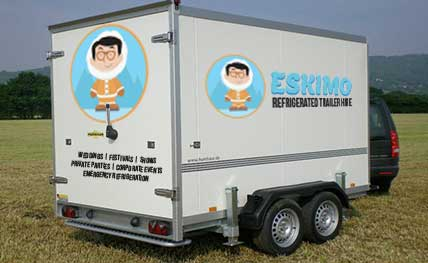 eskimo trailer hire - hexham