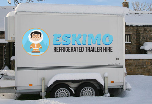 eskimo trailer hire - weddings